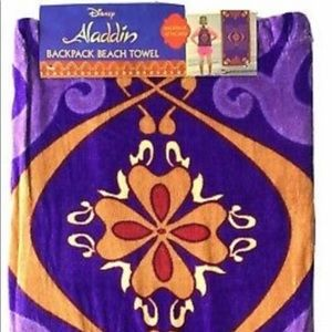 Aladdin backpack beach towel
